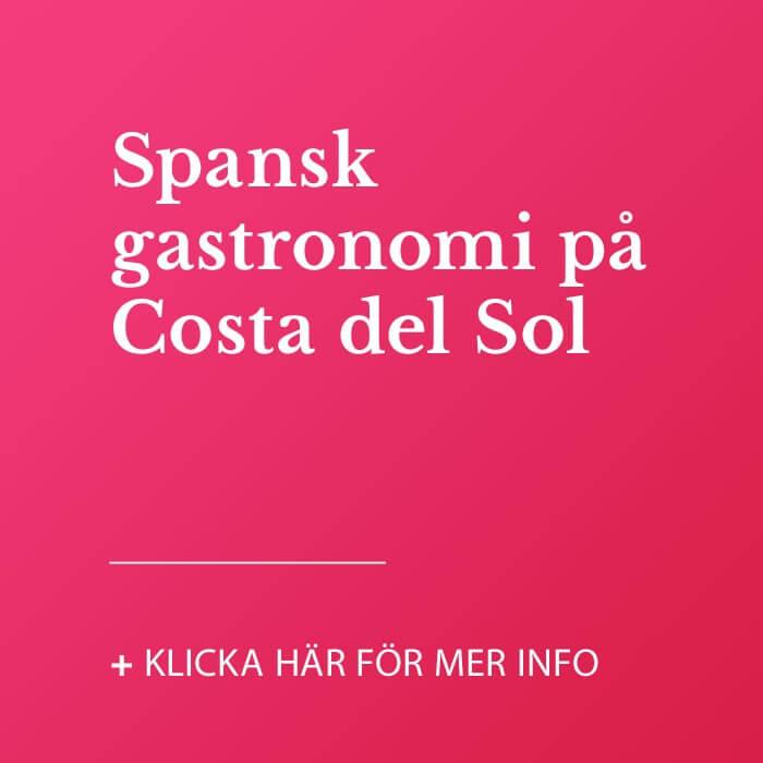 Spansk gastronomi på Costa del Sol