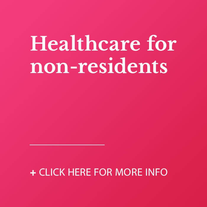 Healthcare for non-residents