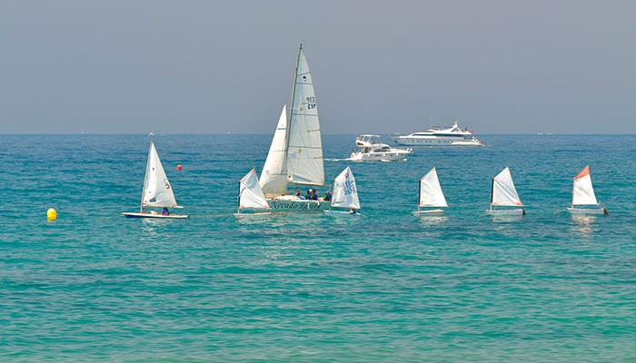 Vattensporter pä Costa del Sol